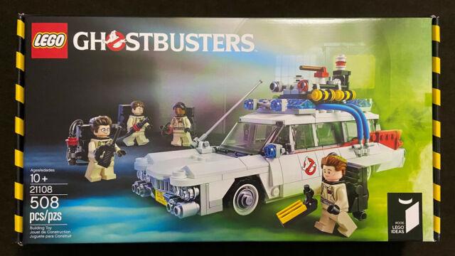 LEGO Ideas Ghostbusters Ecto-1 21108 Cuusoo 006 Original 80's Car+4 minifigs NEW