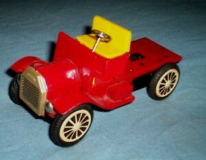 Details about Vintage Tin Toy Friction Motor Model A Truck Japan