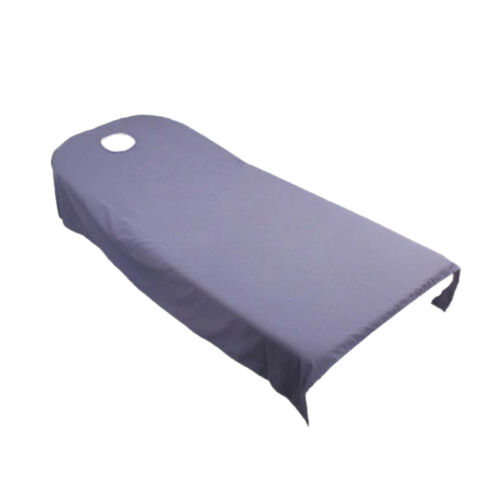 Blesiya 120*190cm Beauty Salon Bed Sheets SPA Massage Table Cover with Hole