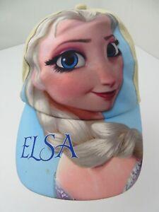 Elsa Frozen Disney Adjustable Kid's Baseball Cap Hat