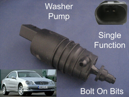 Front Windscreen Washer Pump Mercedes CLK Coupe Convertible 1997 through to 2010