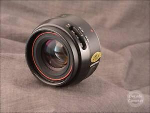 Olympus OM Power Focus 50mm f2 Fast Standard Prime Lens - VGC - 8980A