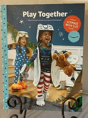 New 2019 Amazon Play Together Holiday Gift Kids Wish List Toy Catalog Stickers Ebay