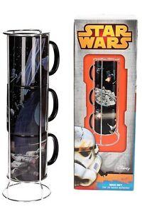 GéNéReuse Star Wars Battle Death Star Empilables Tasses Set-afficher Le Titre D'origine