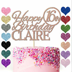 Personalised-Name-Cake-Topper-Custom-Happy-Birthday-Party-13th-16-18-21-25-30