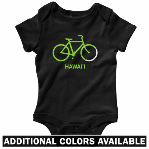 Baby Infant Creeper Romper NB-24M Bike Hawaii One Piece Cycling Bicycle Gift