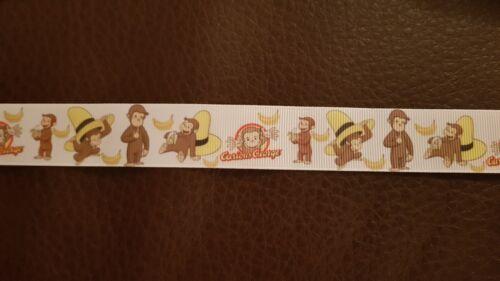 Girls boys baby dummy strap clip mam adaptor pink blue Curious George Monkey