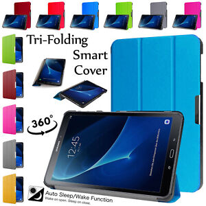 Leather-Smart-Case-For-Samsung-TAB-A-A6-10-1-T580-Protective-Strong-Folio-Cover