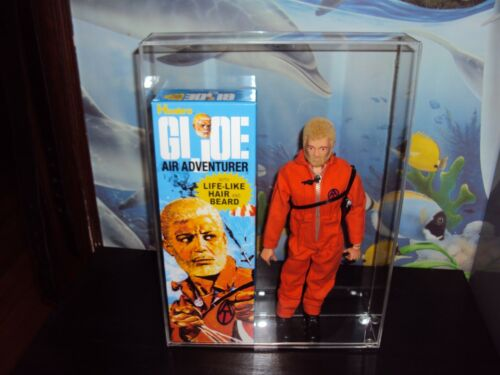 GI JOE 12INCH  ACRYLIC CASE TO STORE THIS SALE IS FOR ACRYLIC CASES ONLY NO TOYS