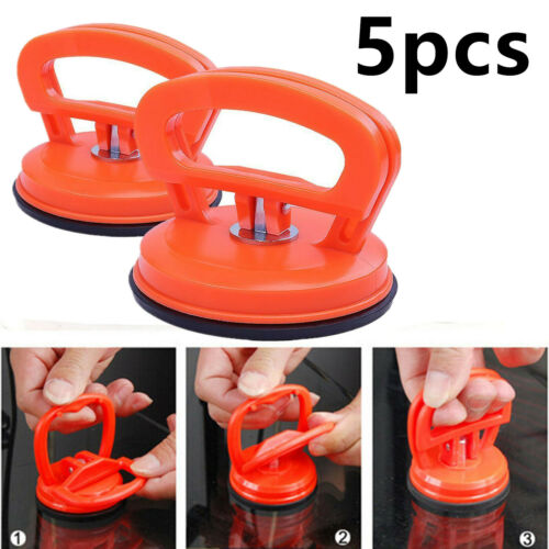 5x Mini Suction Cup Dent Puller Car Truck Auto Dent Body Repair Glass Mover Tool
