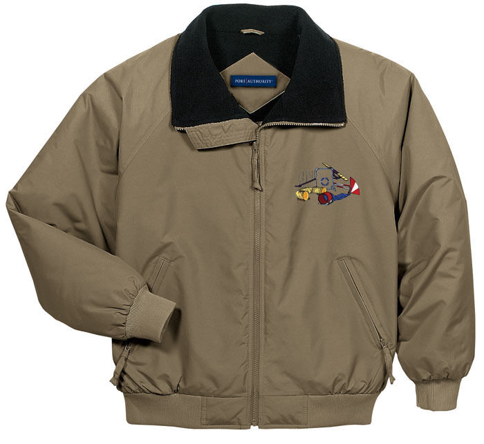 Agility Embroidered Jacket - Left Chest - Dimensiones XS thru XL