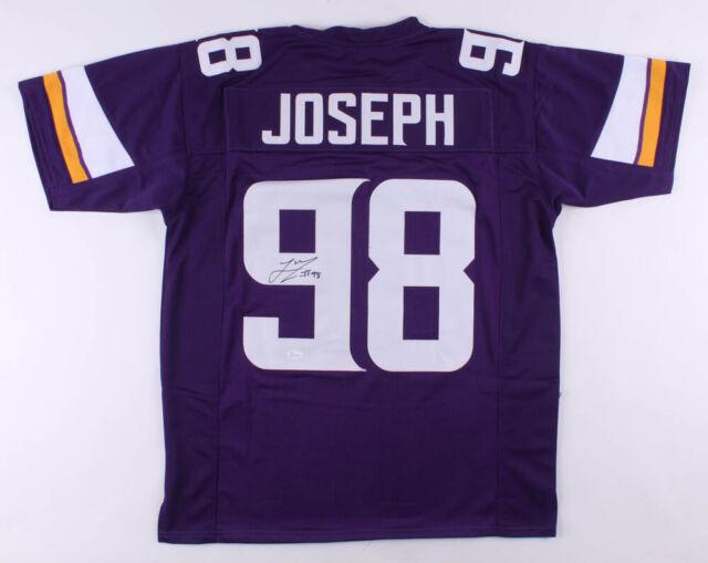 Linval Joseph Signed Jersey (JSA COA) Minnesota Vikings NFL Free ...