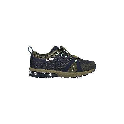Ben Informato Cmp Sneakers Scarpe Sportive Kids Knit Fitness Shoe Verde Scuro Traspirante-mostra Il Titolo Originale
