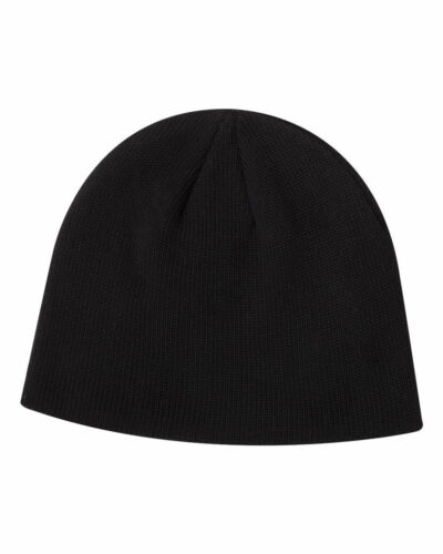 Econscious ORGANIC COTTON Knit Cap 7040 Beanie Hat Black Charcoal Jungle Pacific