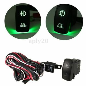 Universal-Wiring-Kit-LED-Fog-Light-Driving-Lamp-Wiring-Harness-Fuse-Switch-Relay