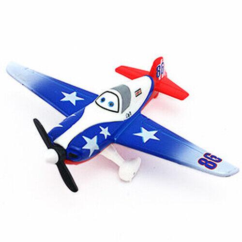 Mattel Disney Pixar Planes 1-2 Dusty Bravo Skipper Alloy Model 1:55 Toys Gift