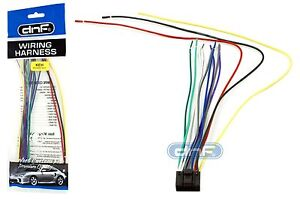kenwood wiring harness 16 pin kdc 138 kdc 215s kdc 217 ships today rh ebay com Kenwood KDC 108 Wiring Harness Kenwood DDX512 Wire Harness