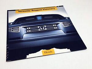 2004 Honda SUT Concept Ridgeline Launch Preview Brochure ...
