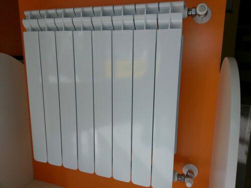 Calorifero Radiatore in alluminio pressofuso mod 800 bianco prezzo ad elemento