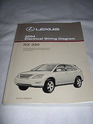 2004 LEXUS RX330 RX 330 Electrical Wiring Diagram Service ...