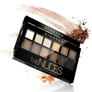 Eye-Shadow-Palette-Brighten-Cosmetic-Matte-12-Colors-Make-Up-Set-Palette-New