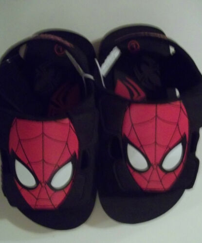 Boys Spiderman Shoes Size 5 6 7 8 9 13 1 2 3 Flip Flops Flats Clogs Sandals