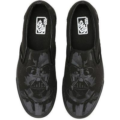 Details zu VANS x STAR WARS Classic Slip On Shoes (NEW) Darth Vader DARK SIDE Mens Sz. 5 12