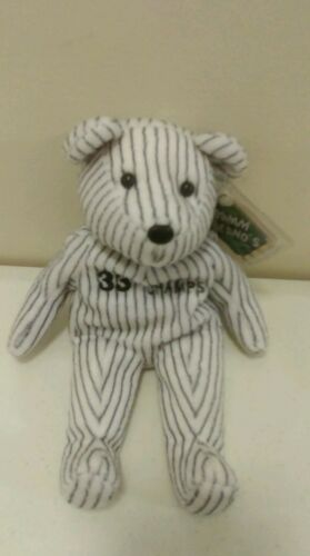 Yankees 98 champs Salvino/'s Bammers Beanos plush beanie BEAR # 33 Wells