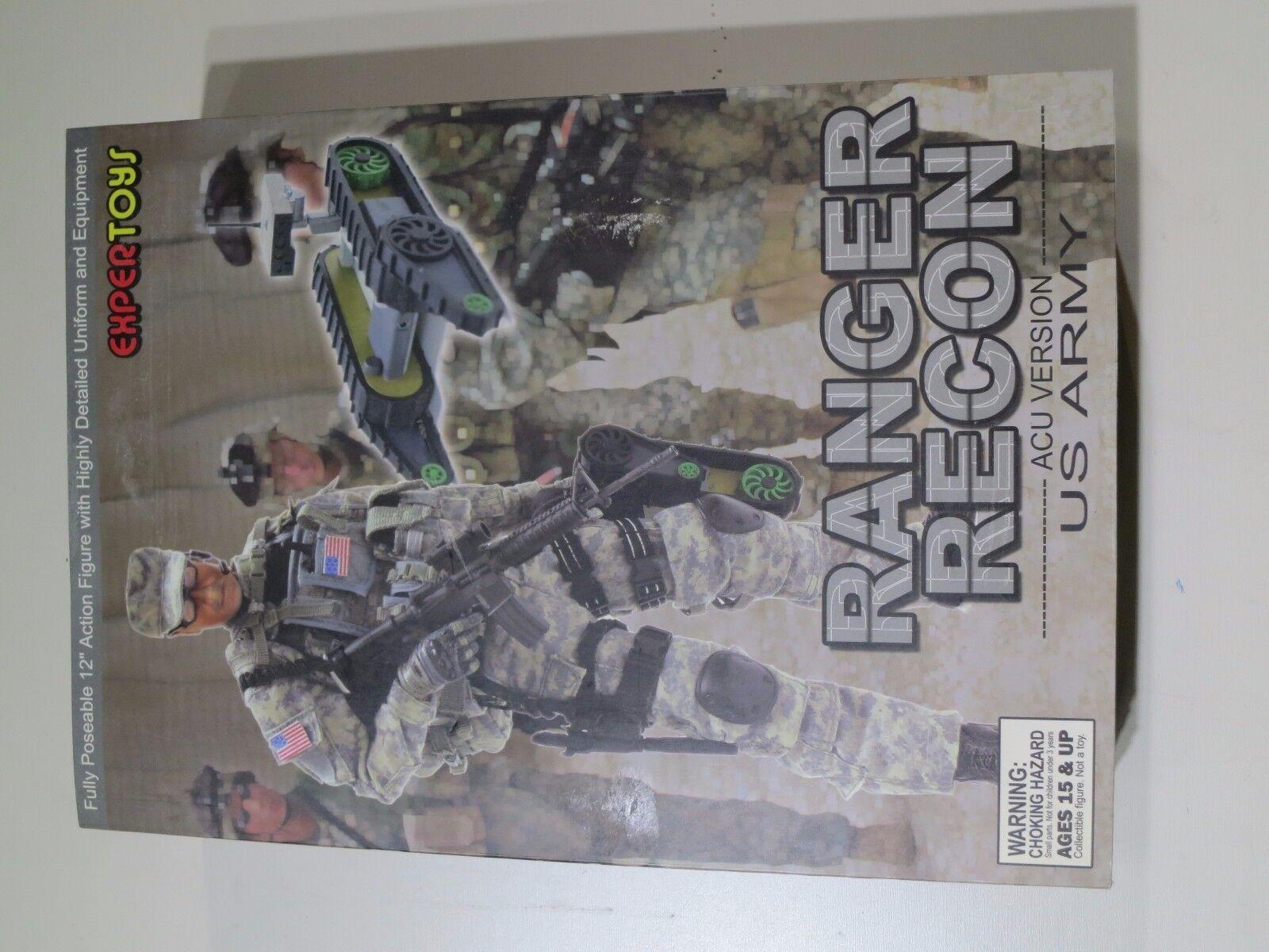Expergiocattoli 16th US Army Ranger Recon ACU Versione Nuovo di Zecca