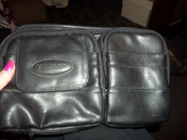 case logic leather case 706208 great for lots of uses camera cd's will even fit