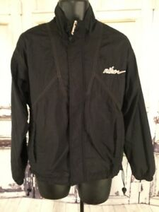 ViNtAgE-90s-MeNs-Nike-Windbreaker-Track-Spell-Out-CoAt-JaCkEt-Black-Medium
