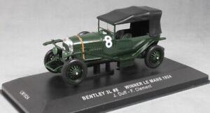 Bentley-Sport-3-litros-Le-Mans-Winner-1924-Duff-amp-Clement-1924-escala-1-43-por-IXO
