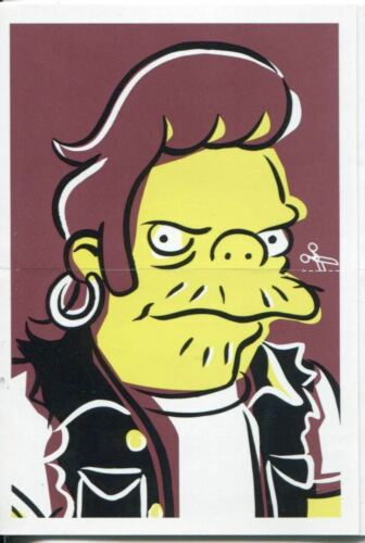Simpsons Mania Dr Marvin Monroes Split Personality Chase Card F1