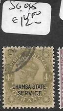 INDIA CHAMBA (P2809B) KGV 4A  SERVICE SG O45  VFU