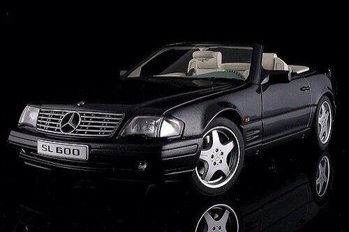 AUTOART MERCEDES-BENZ SL600 V12 noir métallisé 1 18  Dernier