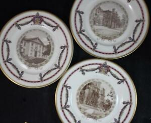 Lamberton-Lafayette-College-3-Dinner-Plates-A-CONDITION