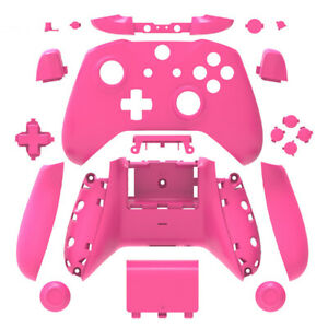 Details about Xbox One S Controller Shell Case Mod Kit w/ Buttons Full  Custom Casing DIY Pink