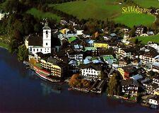 """St. Wolfgang , Romantikhotel """"Im Weissen Rössl"""" , Ansichtskarte"""