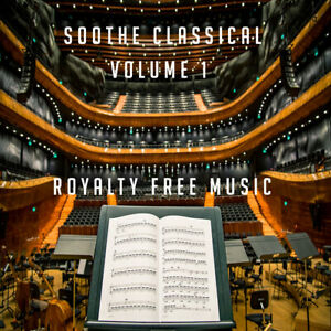 Soothe-Classical-Vol-1-PPL-PRS-Licence-Free-CD-ROYALTY-FREE-MUSIC