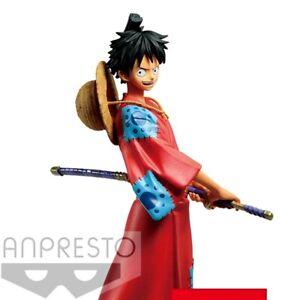 One-Piece-DXF-Grandline-Men-PVC-Statue-Monkey-D-Luffy-16cm-BANPRESTO
