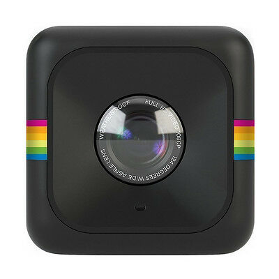 Black Colour Polaroid Cube Lifestyle Action Camera Video Camcorder 1080p HD 6MP