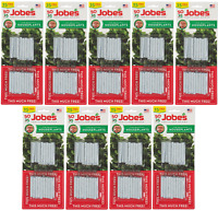 (9) Jobe's 05031t 50 Pack Houseplant / Potted Plant Food Fertilizer Spikes
