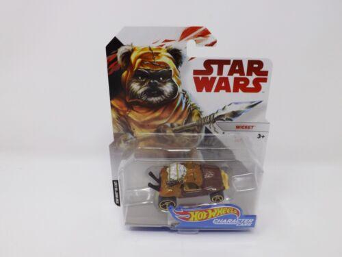 2017 Disney Star Wars Mattel Hot Wheels Character Cars New