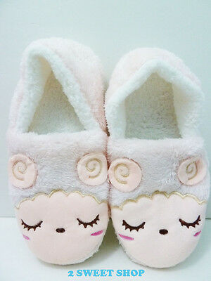Japan ~ Harajuku Tokyo Cute Kawaii Sleepy Sheep Lamb 36~41 Winter Slippers