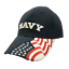 Rockpoint-Military-Navy-Air-Force-Marines-Army-adjustable-cap-USA-flag thumbnail 1