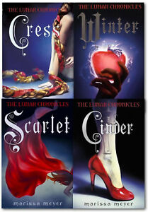 Marissa-Meyer-Lunar-Chronicles-Series-4-Books-Collection-Set-Cinder-Scarlet