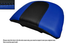 R BLUE &BLACK CUSTOM FITS HARLEY DAVIDSON VROD NIGHT ROD SPECIAL REAR SEAT COVER