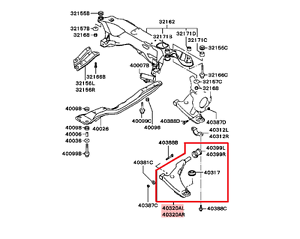 2000 mitsubishi eclipse exhaust diagram wiring diagram 2006 hyundai tucson exhaust diagram 2000 2005 mitsubishi eclipse galant oem front left lower control armimage is loading 2000 2005 mitsubishi