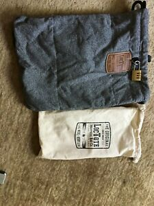 Loctote Cinch gray pack Industrial Bag Flak Sack Anti-theft locking Made in USA