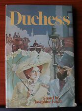 Duchess a novel by Josephine Edgar 1976 HCDC - Romance